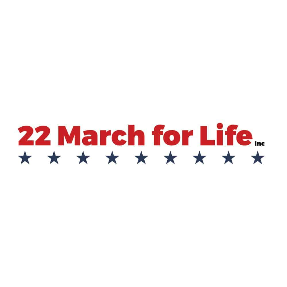 22 march for life inc logo