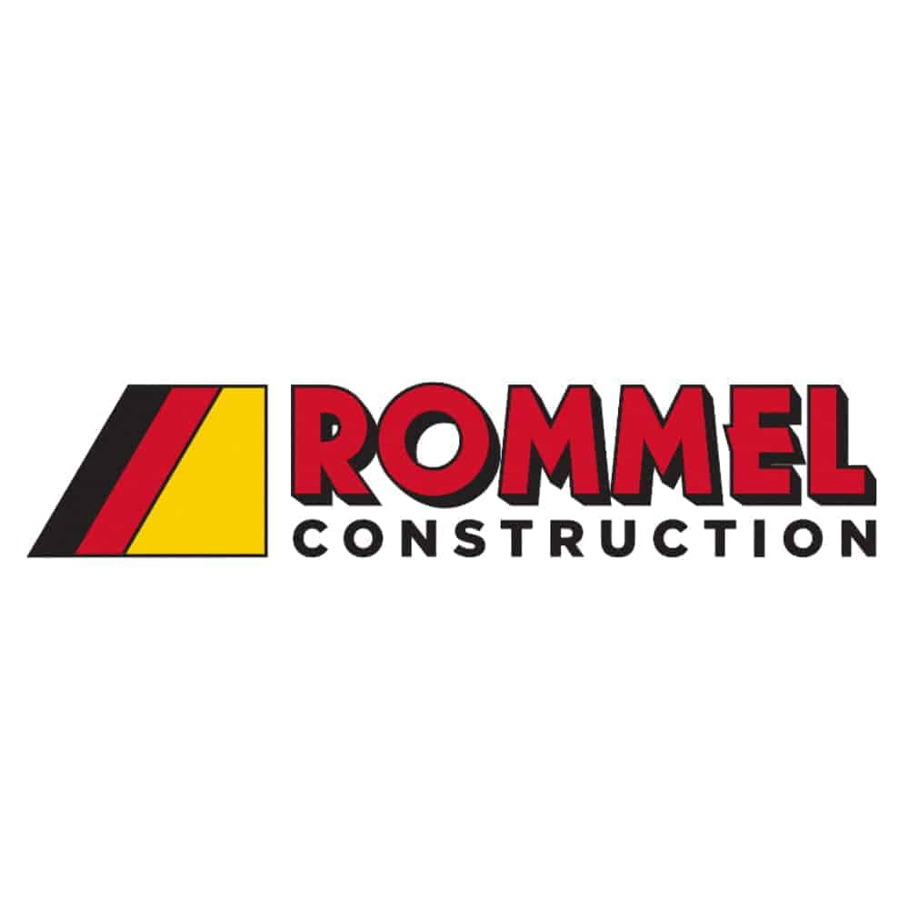rommel construction logo
